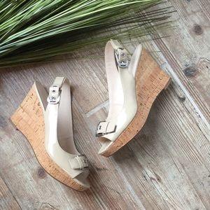 Nwot Franco sarto wedge sandal